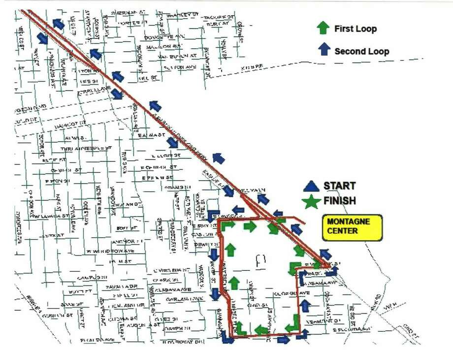 Maps Getting your way around annual Gusher Marathon Beaumont