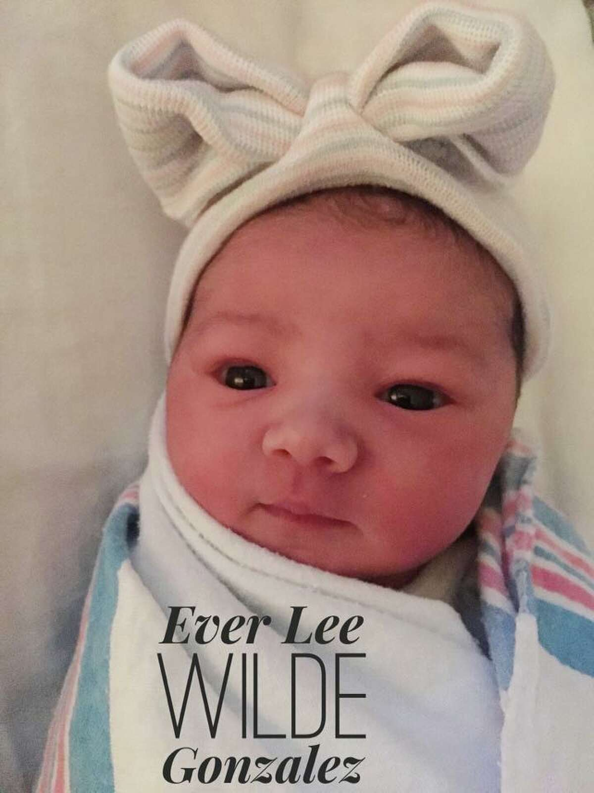 Nicholas Gonzalez and his wife, Kelsey Crane, welcomed a new baby girl on March 1: a daughter named Ever Lee Wilde Gonzalez.