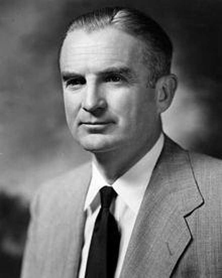 William Stuart Symington, Jr was an American businessman and politician from Missouri. He served as the first Secretary of the Air Force from 1947 to 1950 and was a Democratic United States Senator from Missouri from 1953 to 1976. He died in New Canaan. Photo: Contributed Photo / Hearst Connecticut Media / New Canaan News