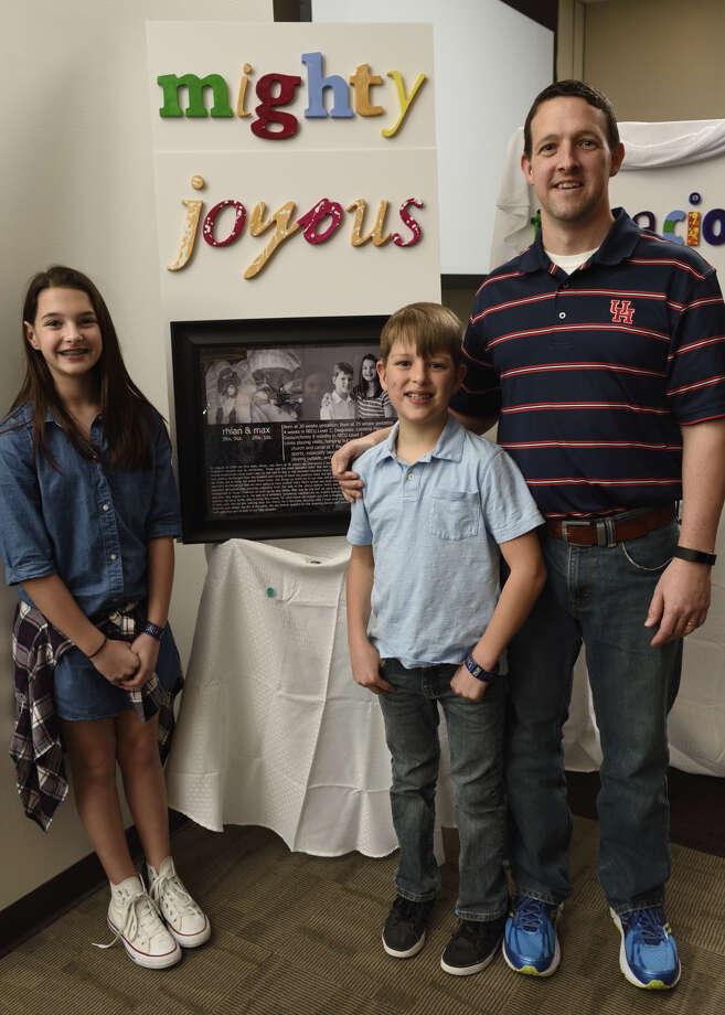 Wall of Hope unveiling photo ceremony Photo: Courtesy Photo