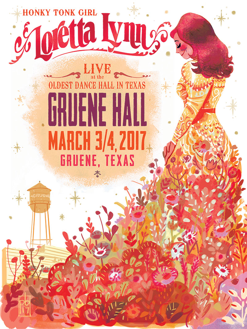 Disney Artist From San Antonio Creates Gruene Hall Concert
