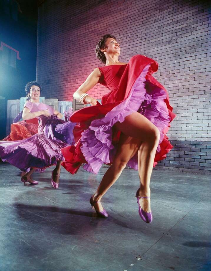 """Chita Rivera (right) and Liane Plane in """"West Side Sto ry,"""" which uses music and movement to create mood. Photo: Hank Walker, The LIFE Picture Collection/Getty Images"""