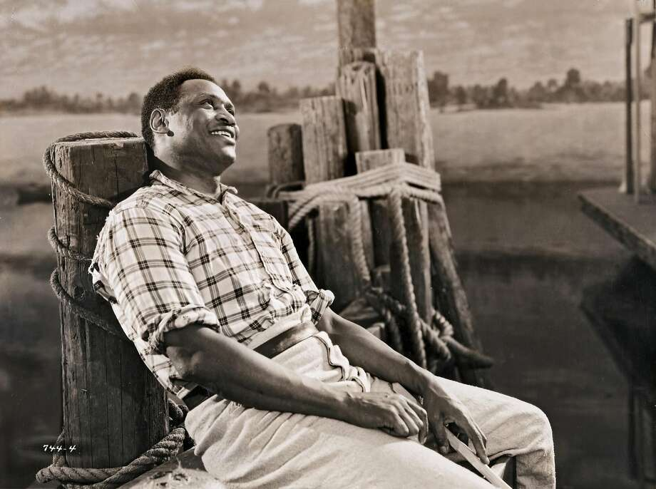 "Paul Robeson in director ""Show Boat"" Photo: John D. Kisch/Separate Cinema Archive, Getty Images"