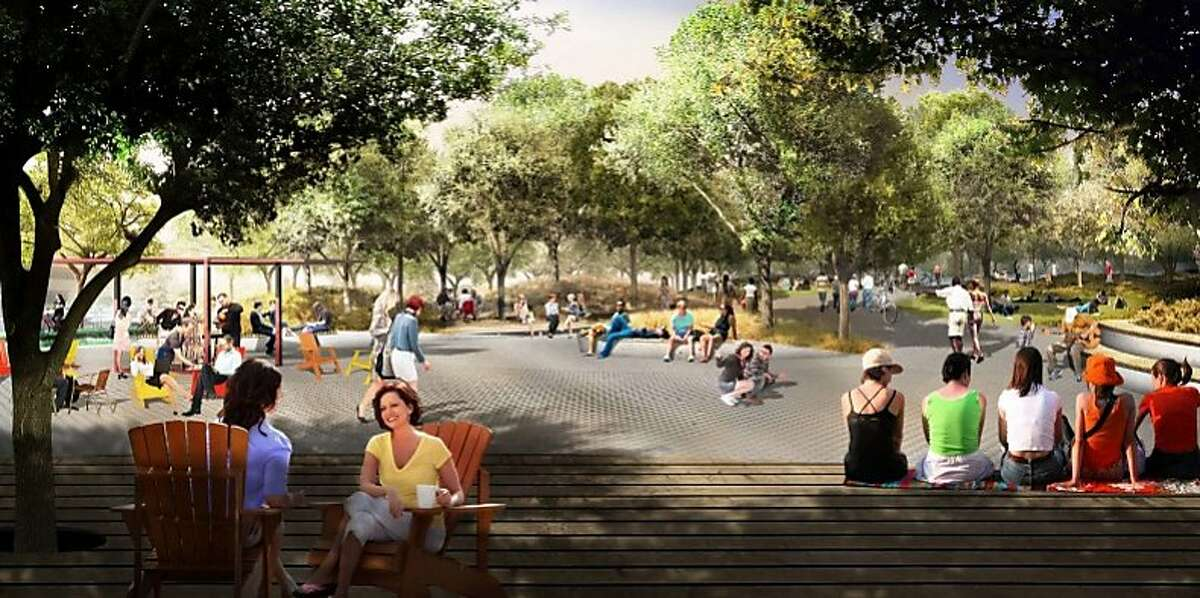Renderings of Google's Charleston East campus