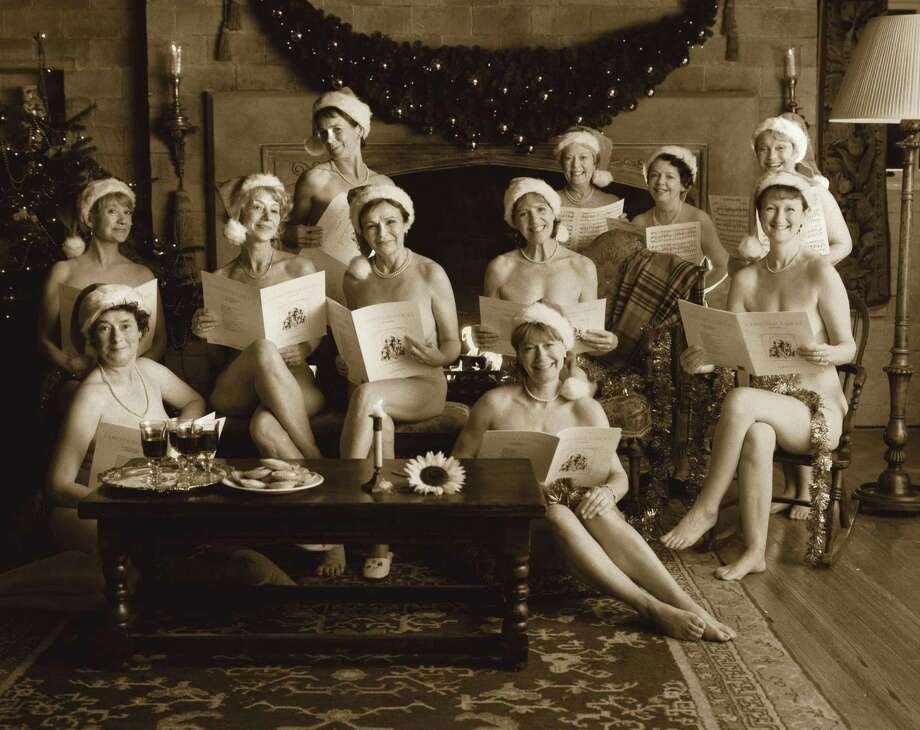 """Photo above is from the hit 2003 film, """"Calendar Girls."""" The stage version will be presented March 11-19 at the Warner Theatre in Torrington. Photo: 'Calendar Girls' / Contributed Photo"""