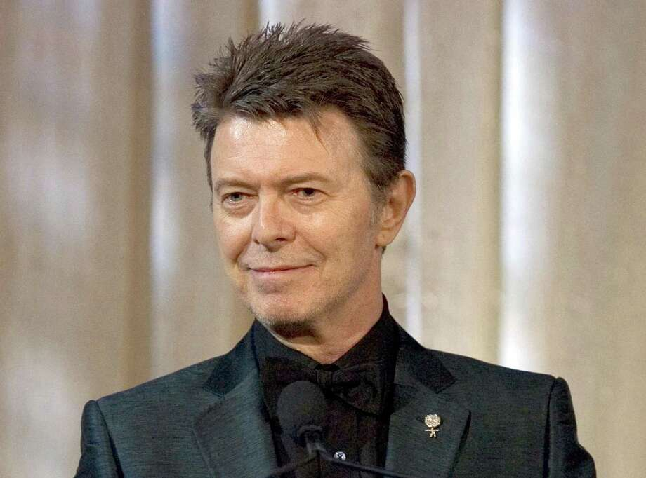 An audio-visual show, featuring material from the archives of David Bowie, is set for the Palace Theatre in Danbury. Photo: Stephen Chernin / Associated Press / Copyright 2017 The Associated Press. All rights reserved.