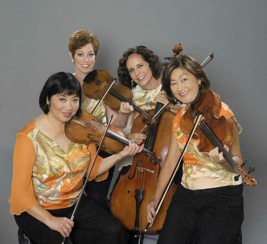 The Cassatt String Quartet, which consists of Muneko Otani, violin; Jennifer Leshnower, violin; Elizabeth Anderson, cello; and Ah Ling Neu, viola, will perform a concert of traditional and Japanese music in Stamford on Sunday, March 12.. Photo: Anna Ablogina / Contributed Photo / Anna Ablogina