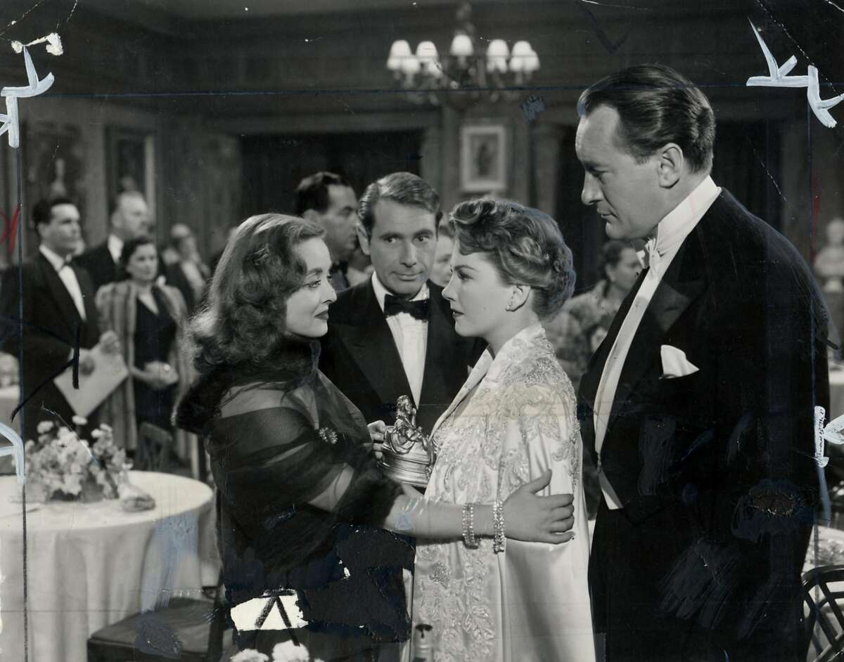 Bette Davis, Gary Merrill, Anne Baxter, and George Sanders in