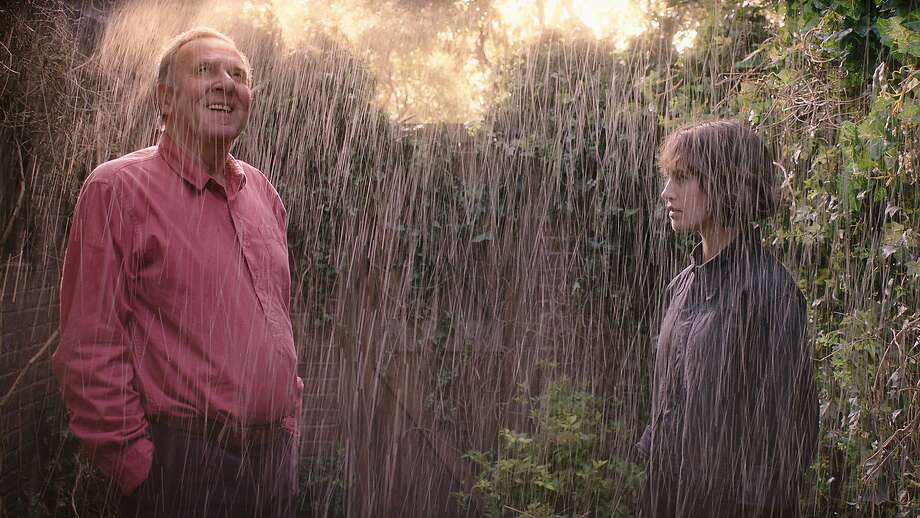"Tom Wilkinson and Jessica Brown Findlay are neighbors in ""This Beautiful Fantastic,"" basically an English remake of ""Amélie."" Photo: Samuel Goldwyn Films"