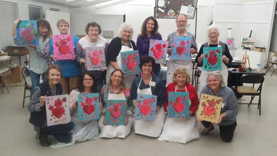Out about wine and paint party alzheimer s association for Wine painting san antonio