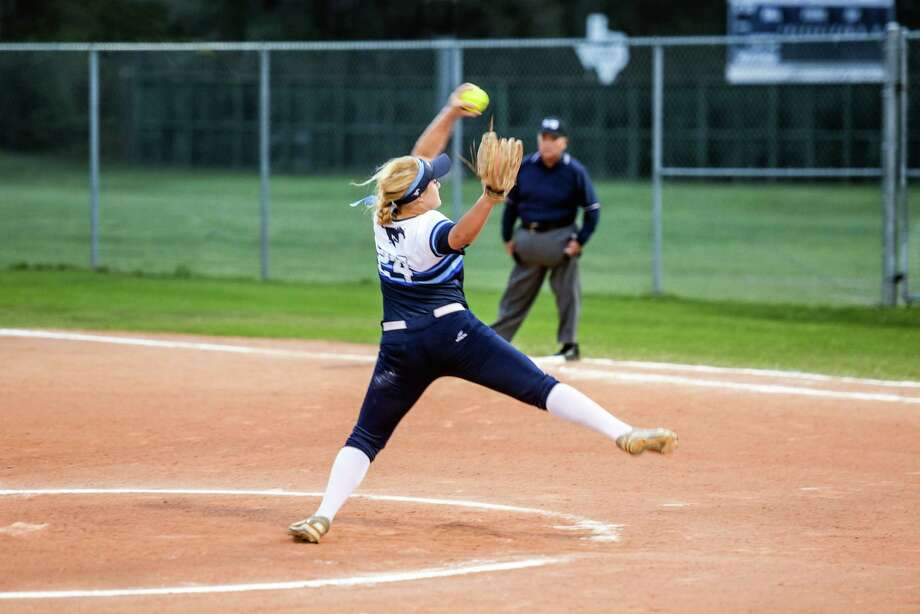 Pitcher Maddie Lindsey is one of the co-captains of this year's softball team Photo: Lauren Hendrix, Kiingwood Softball