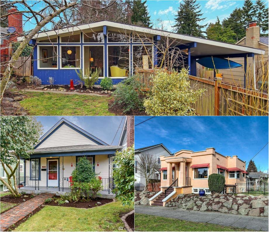 Take a tour of Seattle's funkiest homes hosting open showings this weekend. Photo: Various