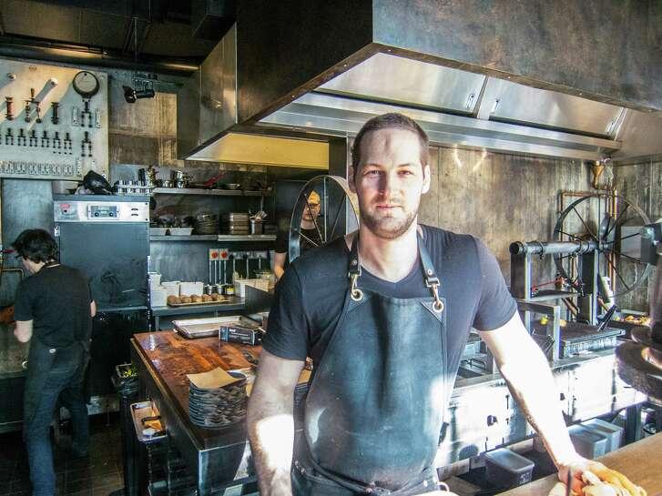 Proprietor and pitmaster David Carter at Smokestak restaurant, London