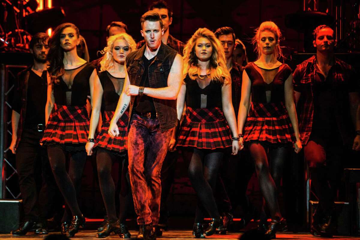 The Majestic Theatre has seen its share of Irish song and dance revues, but this latest one adds a twist.