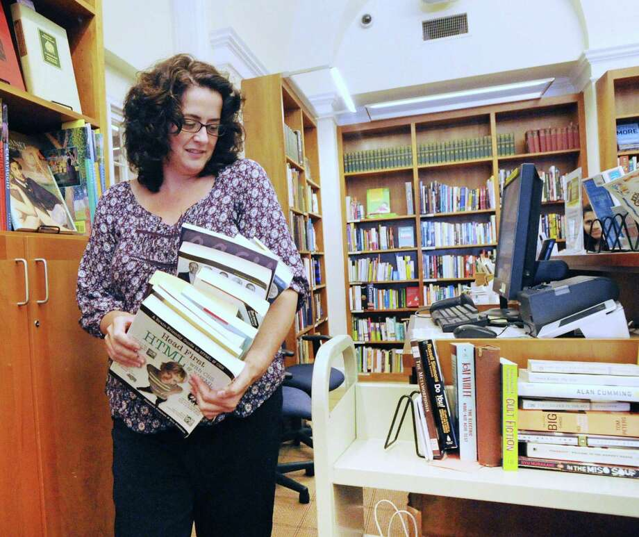 "With so much controversy over ""fake news,"" a reader says librarians can help people determine what is factual and what is not. Photo: Bob Luckey Jr. /Hearst Connecticut Media / Greenwich Time"