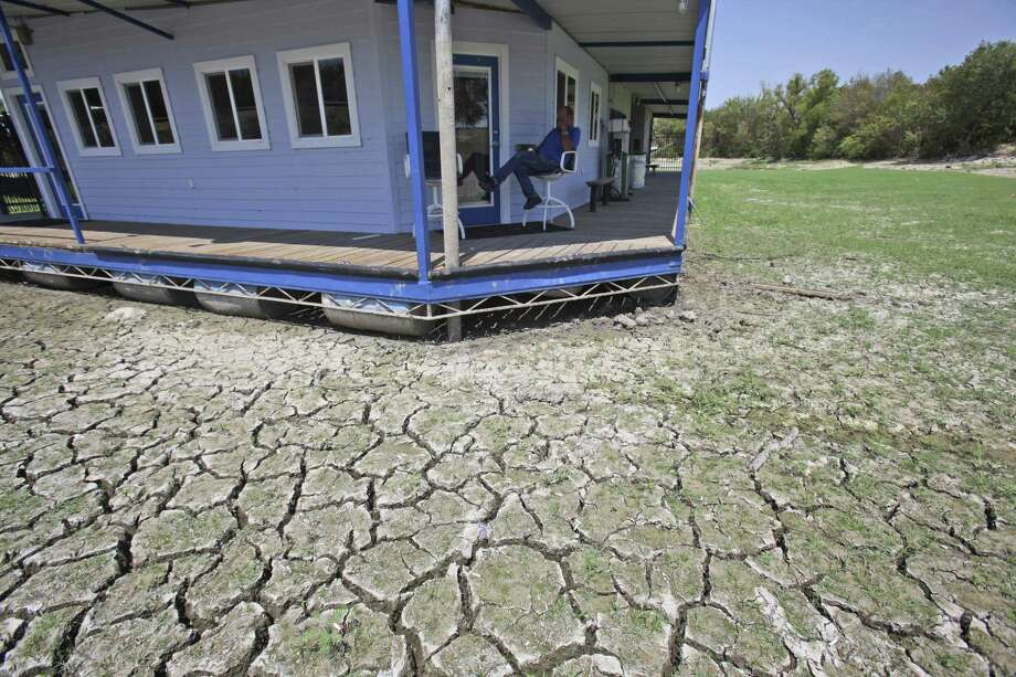 A drought took a toll in Texas, as this 2011 photo from Benbrook Lake shows. The drought is over, yet water fights are raging. There would be no shortage under a free market approach to groundwater. Photo: Associated Press File Photo / AP