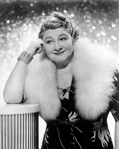 Singer and actress Sophie Tucker wasn't noted for her subtlety. Photo: Silver Screen Collection/Getty Images, Getty Images