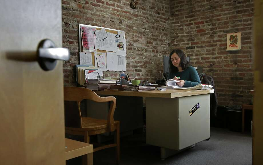 Senior staff attorney Cecilia Candia at the offices of Legal Services for Children in San Francisco. Photo: Michael Macor, The Chronicle