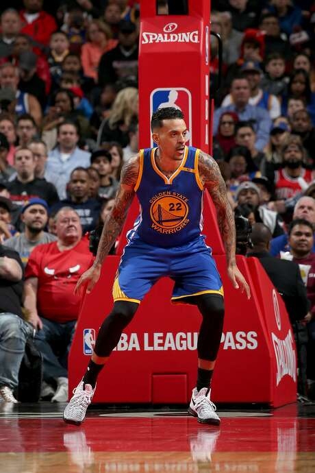 Warriors forward Matt Barnes during Thursday's loss to Chicago. Photo: Courtesy Of The Warriors, NBAE/Getty Images