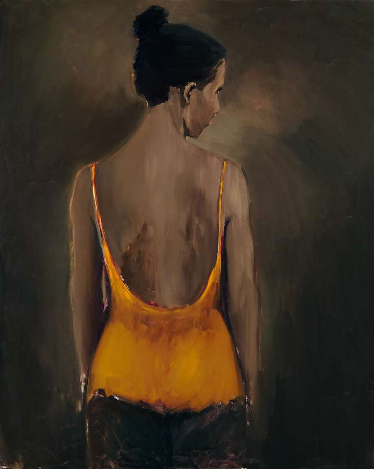 "Lynette Yiadom-Boakye, ""Places to Love For"" (2013) Photo: � Lynette Yiadom-Boakye,, Courtesy Jack Shainman Gallery"