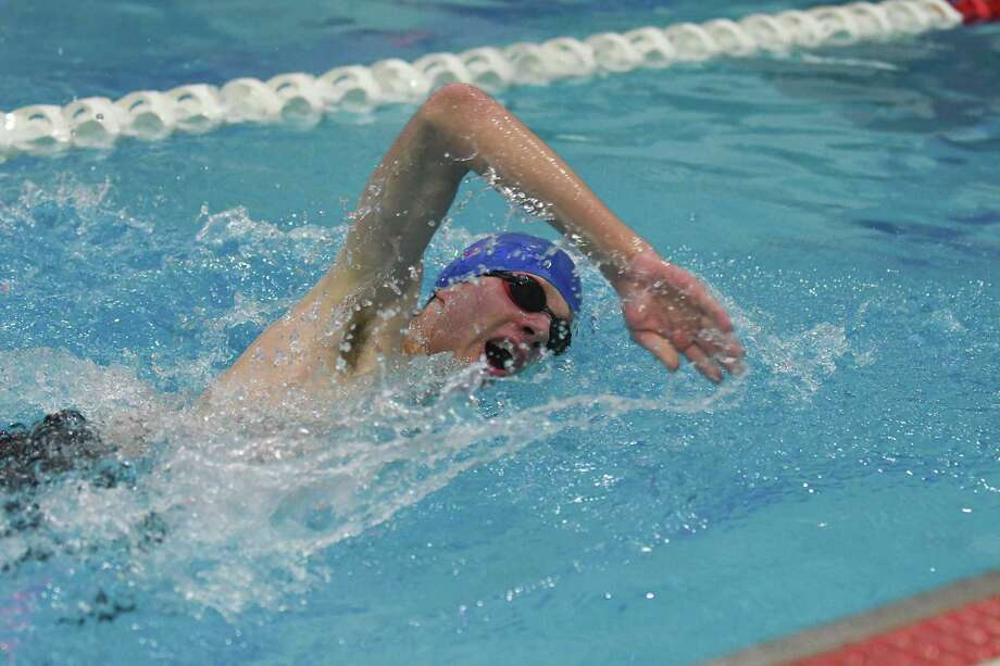 Pomperaug s pool dominance continues at swc championships newstimes for Stratford swimming pool timetable