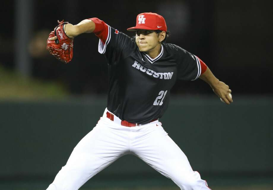 University of Houston lefthander Seth Romero, a projected first-round MLB draft pick, has been suspended indefinitely for multiple violations of university and athletic department policy. Photo: UH