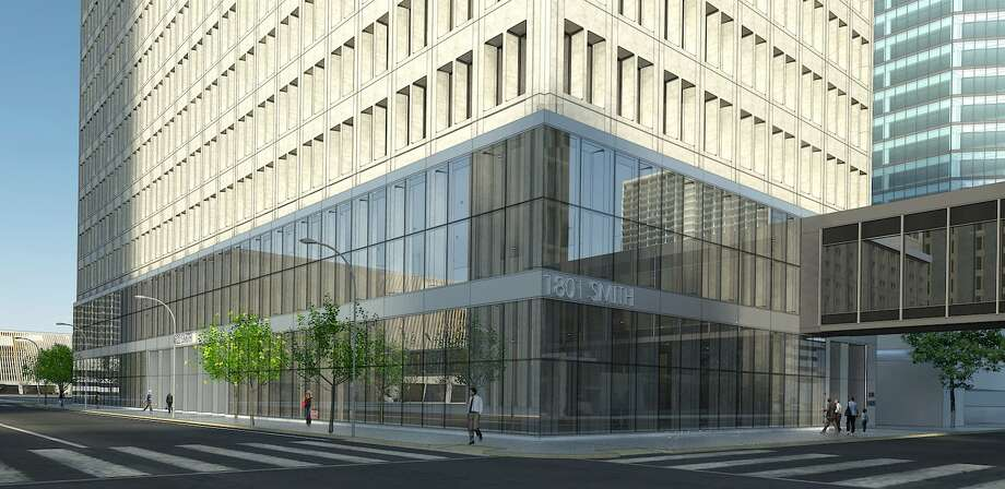 Stream Realty Partners says the upgrades at 1801 Smith will help companies attract millennials. Photo: Stream Realty Partners