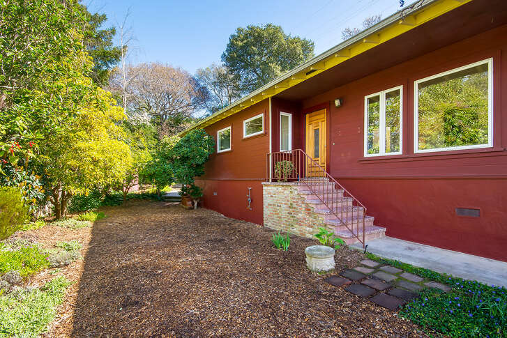 The home at 10 Manzanita Court in Corte Madera is on the market for $1.195 million.