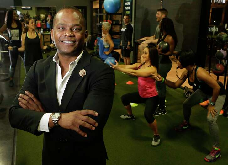 Deon Johnson, owner and founder of The ONE Fitness, 1415 Voss, is shown Tuesday, Feb. 21, 2017, in Houston. ( Melissa Phillip / Houston Chronicle )