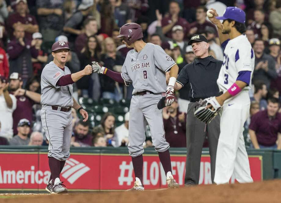Braden Shewmake is the offensive leader of the No. 20 Aggies who have two SEC series remaining, and play the first of three games at Mississippi at 6:30 p.m. Friday. Photo: Joe Buvid/For The Houston Chronicle