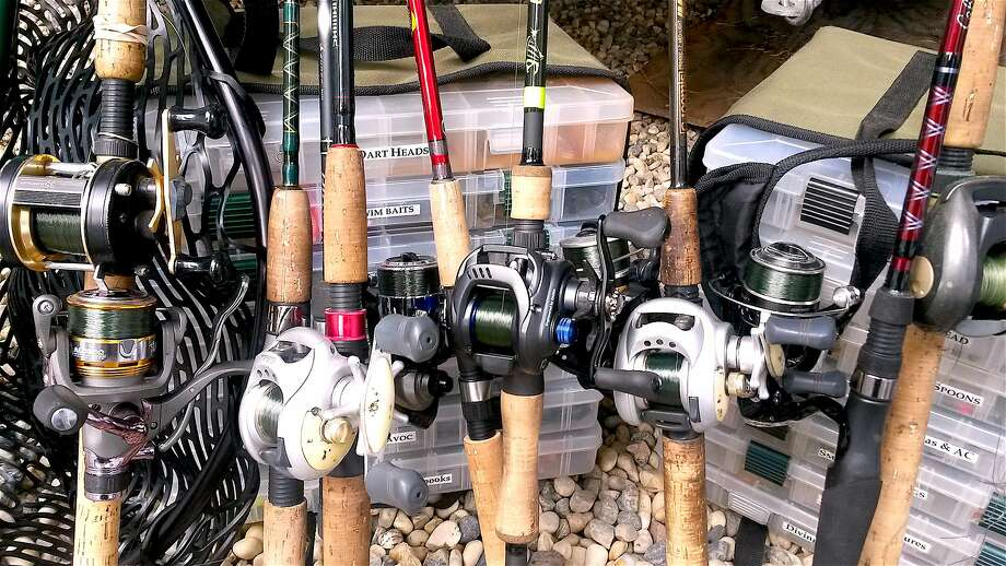 As part of launch mode for spring, re-spool your go-to- fishing reels, organize your tackle boxes and check your net Photo: Tom Stienstra, Tom Stienstra / The Chronicle