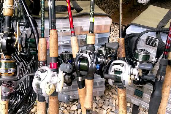 As part of launch mode for spring, re-spool your go-to- fishing reels, organize your tackle boxes and check your net
