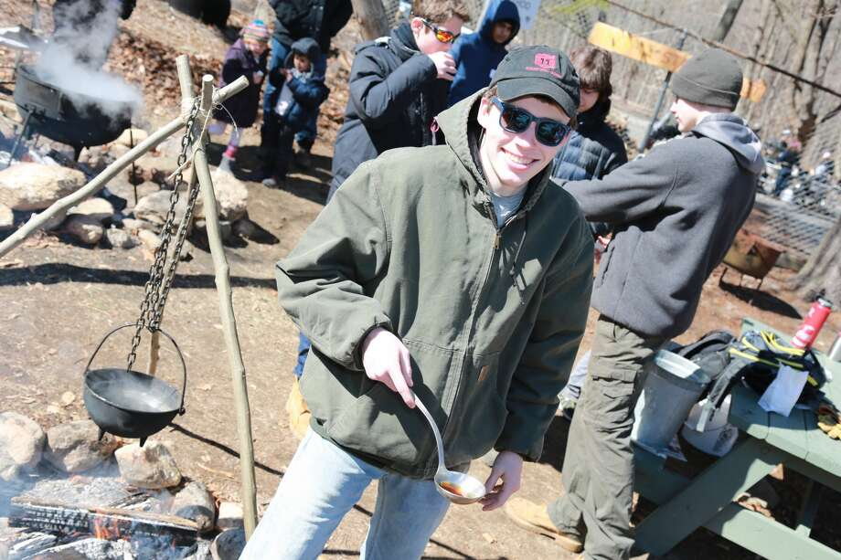 The Stamford Museum & Nature Center held its annual Maple Sugar Festival on March 4 and 5, 2017. Guests enjoyed scavenger hunts, face painting, live music, arts and  crafts and close-up views of the animals of Heckscher Farm. Were you  SEEN on Sunday, March 5? Photo: Derek Sterling/Hearst CT Media