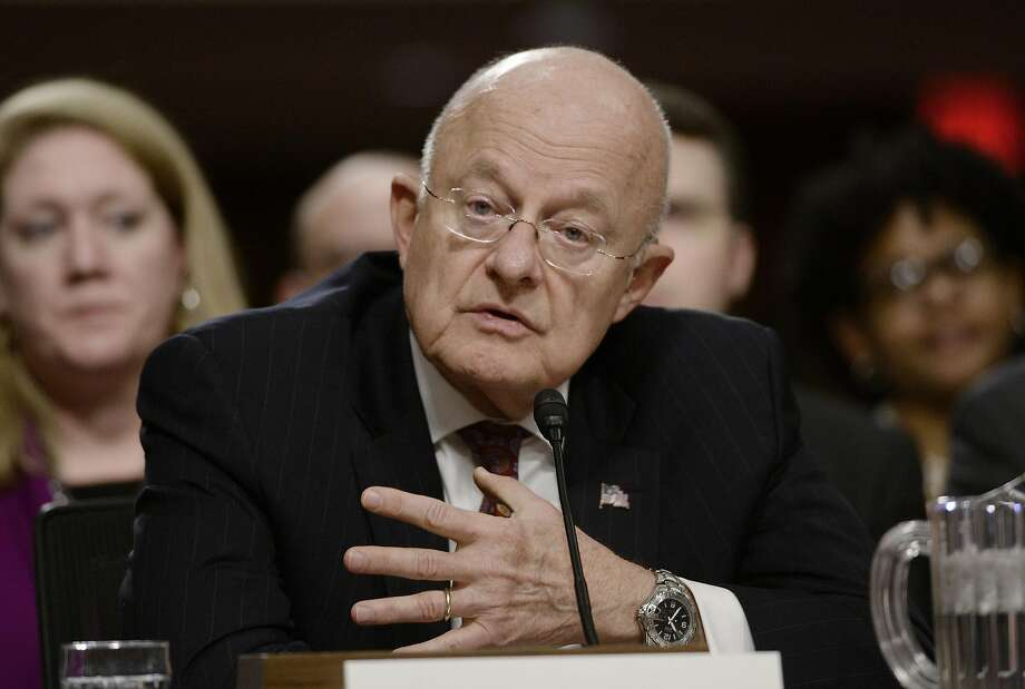 James Clapper, the former director of national intelligence, denies President Trump's claims of being surveilled. Photo: Olivier Douliery, TNS