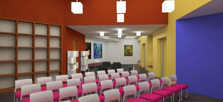 The Central Library's Latino Collection and Resource Center will have an area for programs, such as lectures and panels.