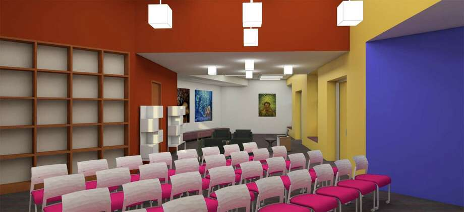 The Central Library's Latino Collection and Resource Center will have an area for programs, such as lectures and panels. Photo: Courtesy Photo