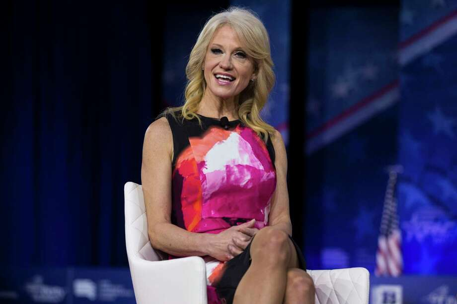 Senior adviser Kellyanne Conway at the Conservative Political Action Conference in National Harbor, Md., Feb. 23, 2017.Click through for more fun from President Trump's first months in office...  Photo: AL DRAGO, STF / NYTNS