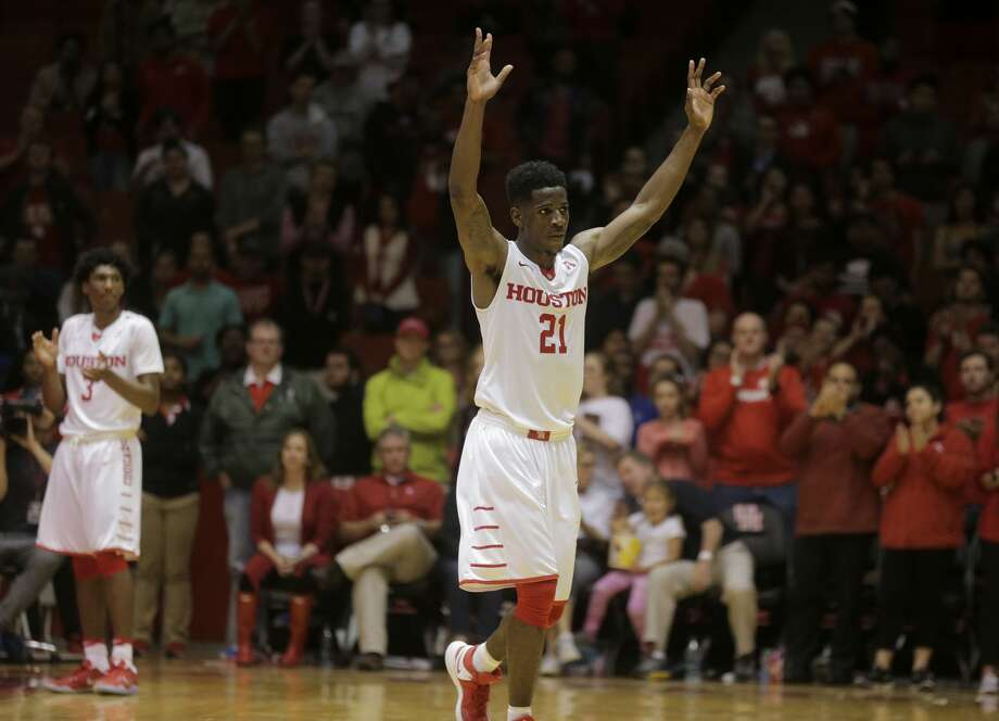 Houston Cougars guard Damyean Dotson has been invited to the NBA combine. Photo: Elizabeth Conley/Houston Chronicle