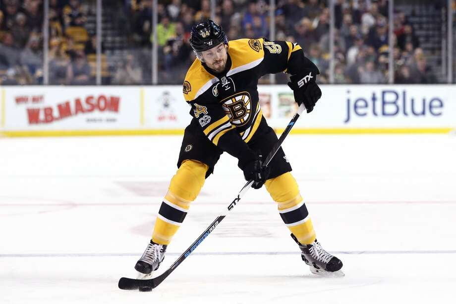 BOSTON, MA - FEBRUARY 12: Adam McQuaid #54 of the Boston Bruins takes a shot against the Montreal Canadiens during the first period at TD Garden on February 12, 2017 in Boston, Massachusetts. (Photo by Maddie Meyer/Getty Images) Photo: Maddie Meyer/Getty Images