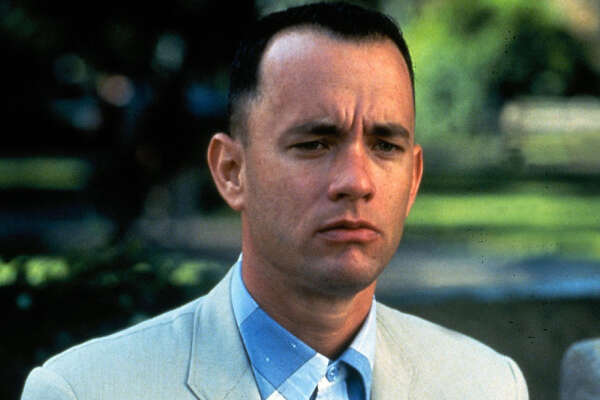 MV 398520000 0224_11 CINEMAX 02-25-2002 10:00pm Forrest Gump Best Bet Tom Hanks gives an Oscar-winning performance as the slow-witted title character in the 1994 comedy-drama ''Forrest Gump'' Monday, Feb. 25, on Cinemax (10 p.m.-12:30 a.m. ET). 5x6 Color 72dpi Photos-Jay