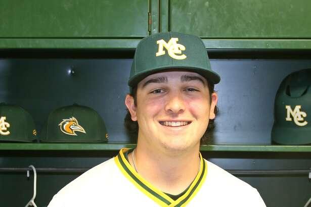 Midland College baseball player Braden Hayward