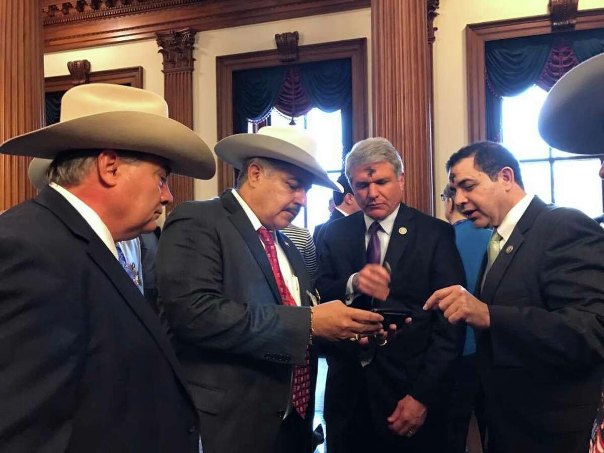 Webb County Sheriff's Office officials met with an array of federal agencies and members of Congress last week during a trip to Washington, D.C.