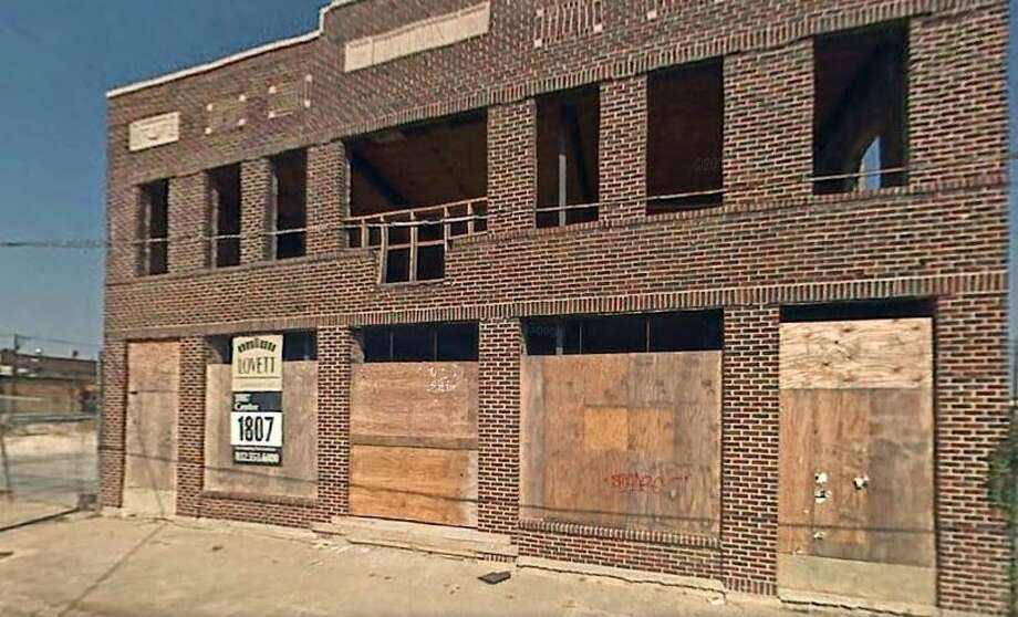 This Oct. 2007 photo shows an empty building with boarded up windows located at 1814 Washington.   Photo: Google Maps