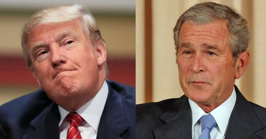 Image result for george w bush trump