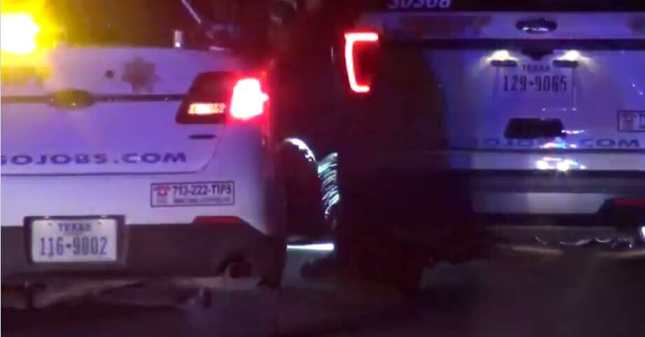 A suspect faces possible assault on an officer and narcotics charges Monday after beginning to fight with a law enforcement officer and attempting to flee the scene of a car crash, in which there were narcotics in his vehicle. (Metro Video) Photo: Metro Video