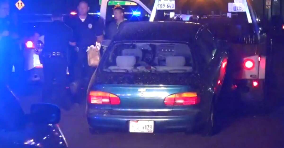 A suspect faces possible assault on an officer and narcotics charges Monday after beginning to fight with a law enforcement officer and attempting to flee the scene of a car crash, in which there were narcotics in his vehicle. (Metro Video)