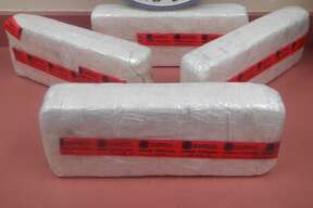 Location:  Laredo, Texas  Date:  March 1  Number of busts:  2  Seized:  161 pounds of crystal methamphetamine  Estimated street value:  $3,231,061  Highlights:  The largest of the two seizures occurred on Feb. 28 at the Lincoln-Juarez International Bridge. CBP officers referred a secondary examination for a U.S. citizen from Houston who was driving a 1999 Ford Explorer. Upon inspection of the vehicle, the officers discovered 132 pounds of crystal meth, worth more than $2.5 million.