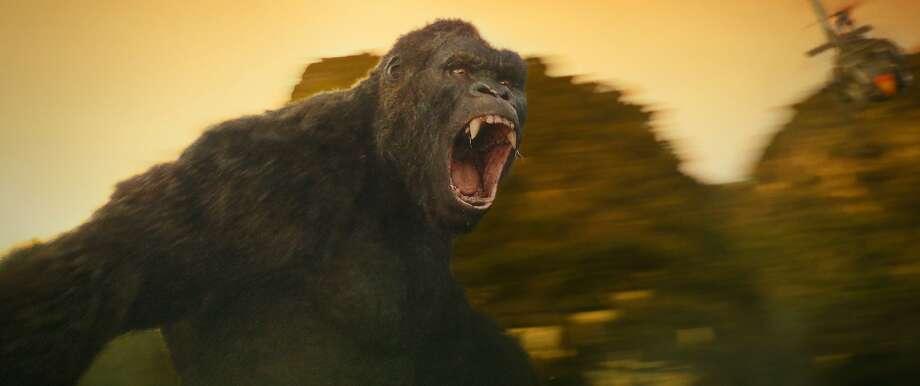 """Kong: Skull Island."" Photo: Associated Press"