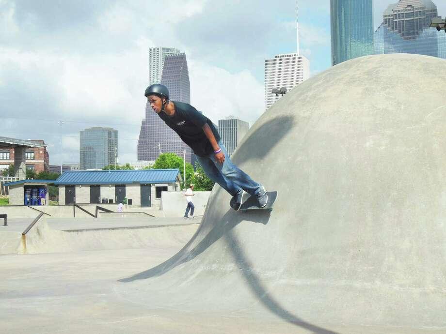 Skateboarding by Sophia Vu, Love Elementary Photo: Courtesy