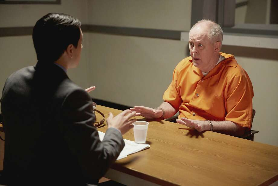 """Nicholas D'Agosto, left, and John Lithgow appear in a scene from """"Trial & Error."""" The series premieres with back-to-back episodes on Tuesday, March 14. Photo: Tyler Golden, Associated Press"""